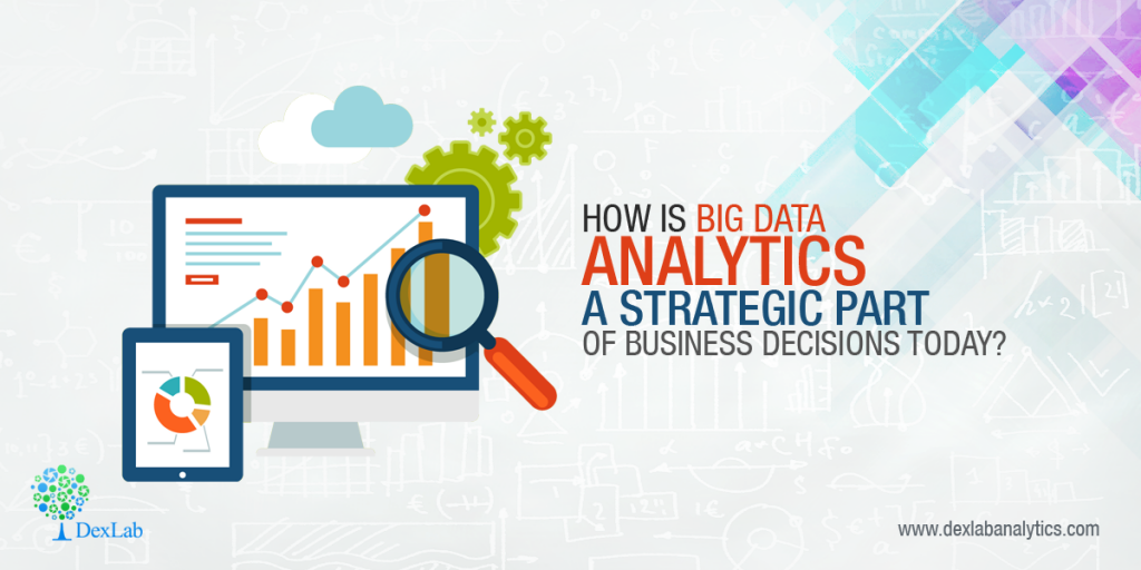 How is big data analytics a strategic part of business decisions today?