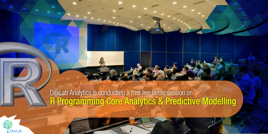 We are offering a free demo session on:  R Programming Core Analytics & Predictive Modelling