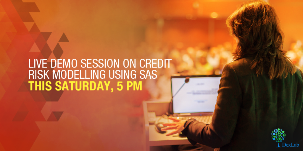 Join us at a free live demo session today, on Credit Risk Modelling with SAS
