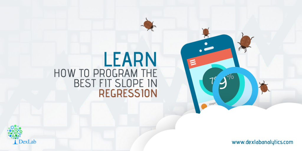 Learn How to Program The Best Fit Slope in Regression