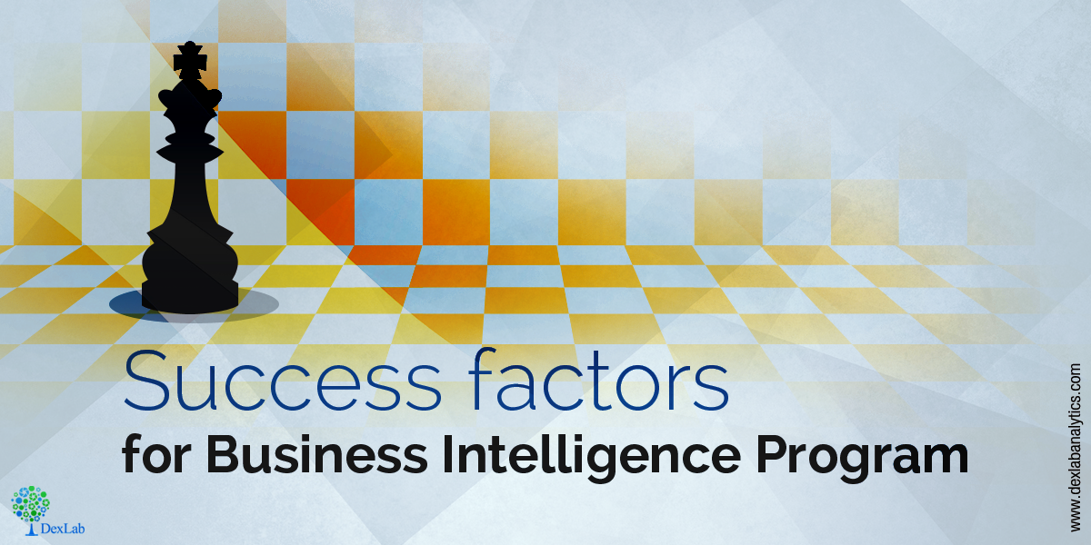 Success factors for Business Intelligence program