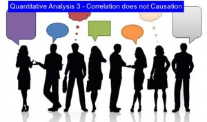 Measuring Why Correlation does not Causation