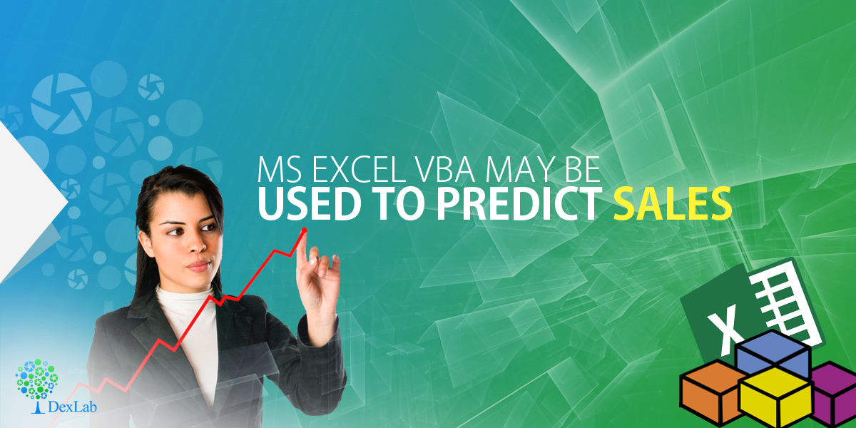 Ms Excel VBA May Be Used To Predict Sales
