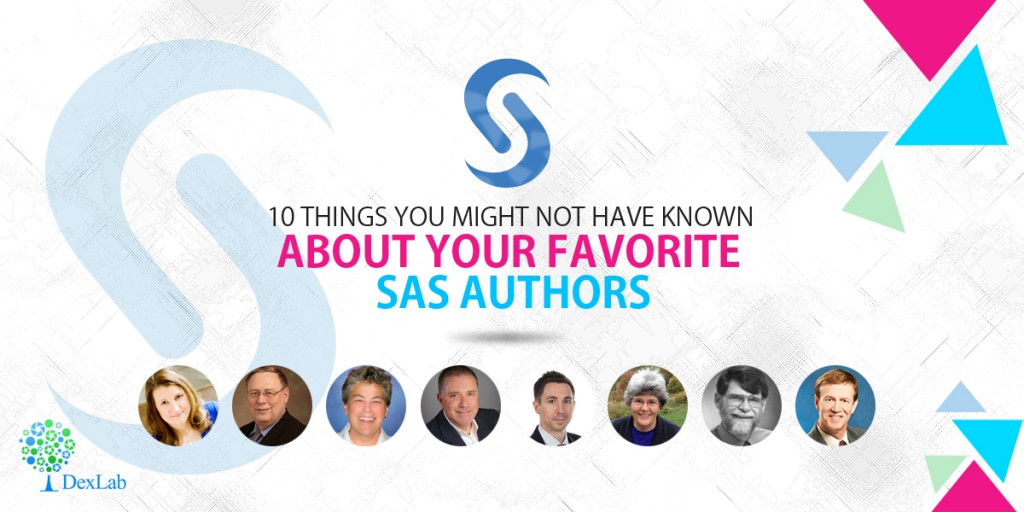 10 Things You Might Not Have Known About Your Favorite SAS Authors