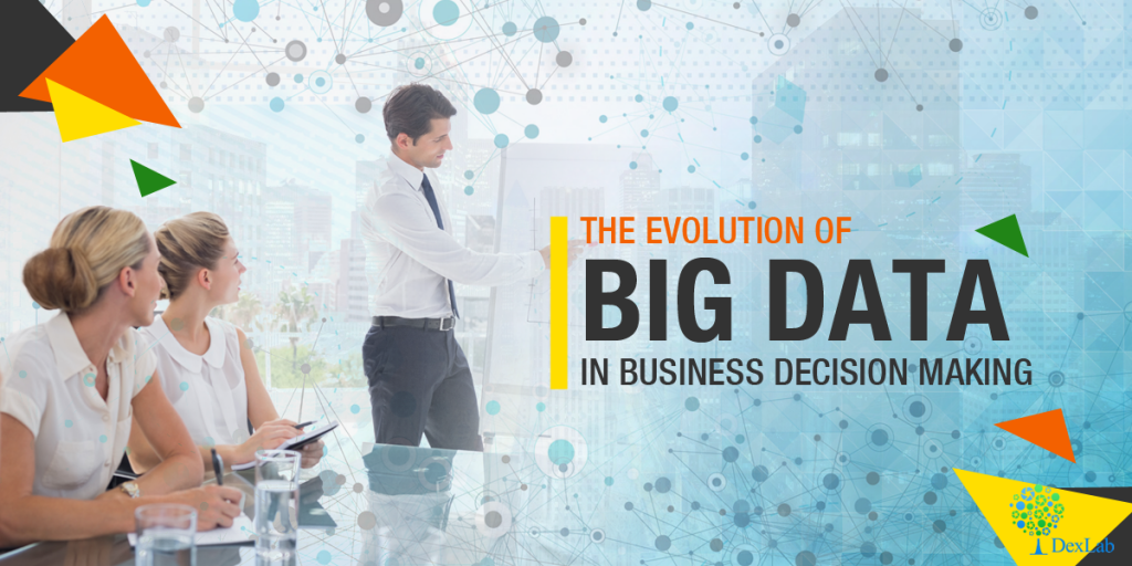 The evolution of Big Data in business decision making