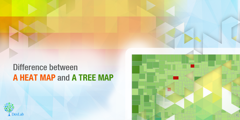 Difference between a Heat Map and a Tree Map