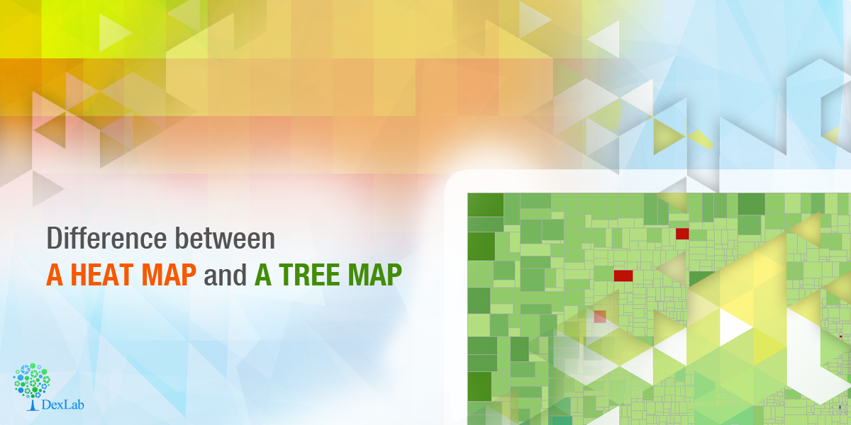 Difference between a Heat Map and a Tree Map on