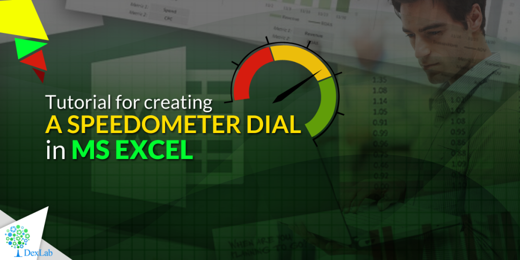Tutorial for creating a Speedometer dial in MS Excel