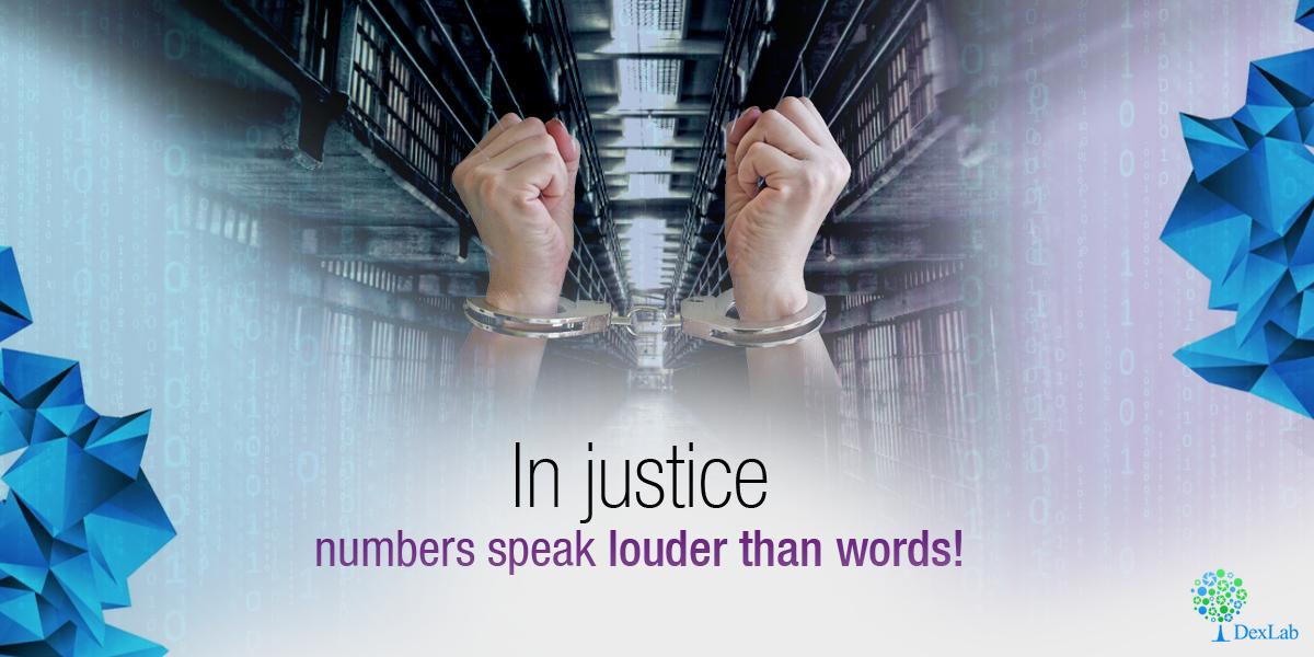 In Justice Numbers Speak Louder Than Words!
