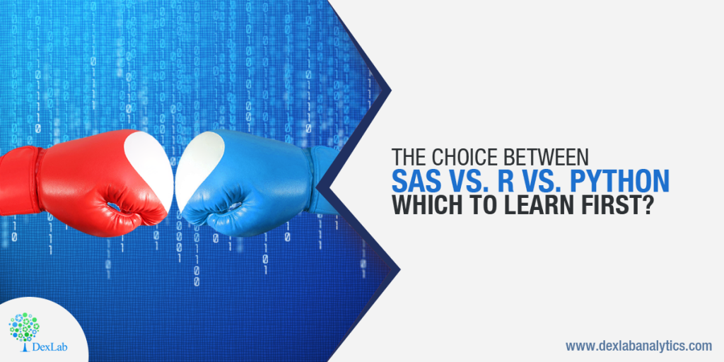 The Choice Between SAS Vs. R Vs. Python: Which to Learn First?