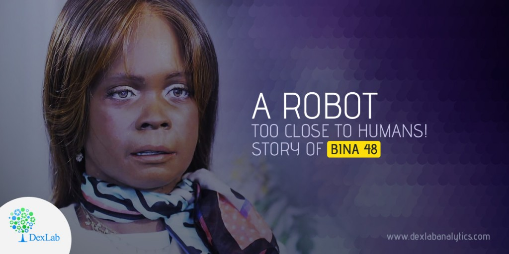 A robot too close to humans! Story of BINA 48