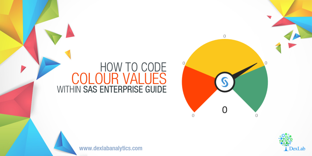 How to Code Colour Values Within SAS Enterprise Guide