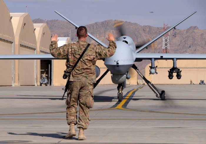 us-military-mq-9-reaper-drone-lands