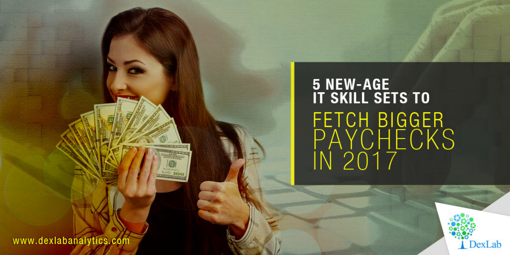 5 New-Age IT Skill Sets to Fetch Bigger Paychecks in 2017