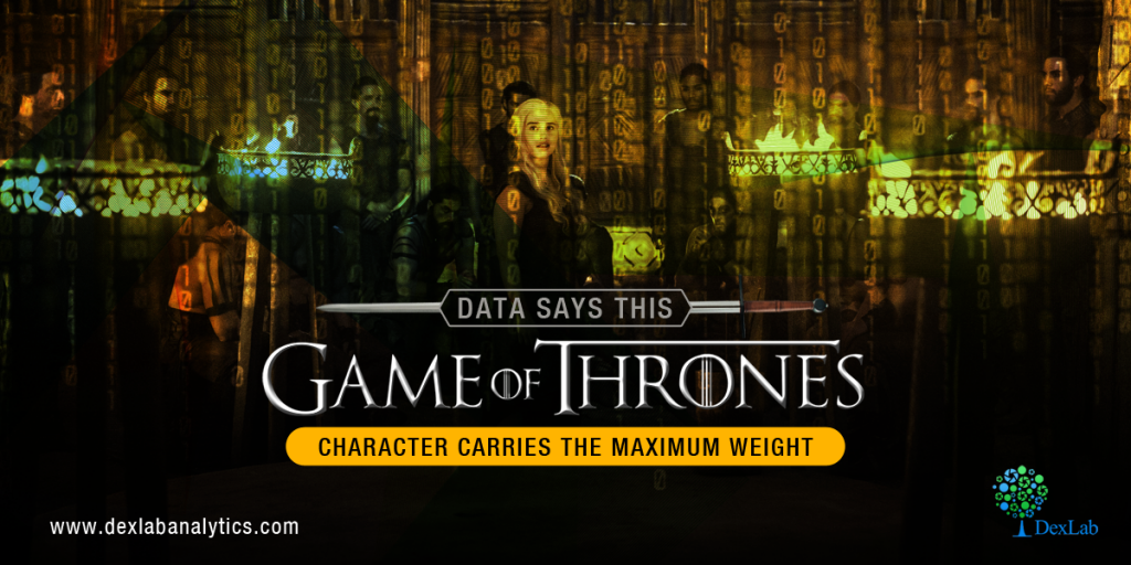 Data Says This Game of Throne Character Carries the Maximum Weight