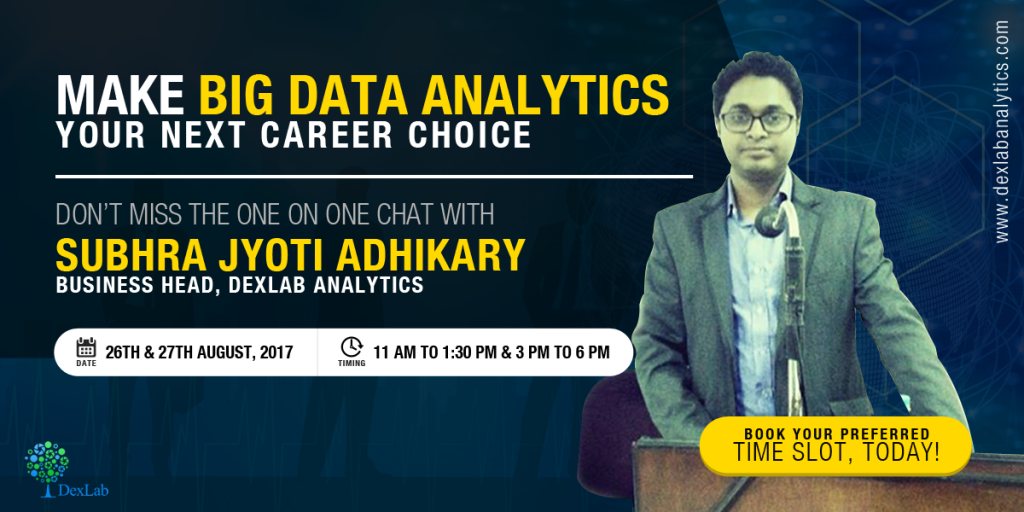 In Discussion with Subhra Jyoti Adhikary, Business Head, DexLab Analytics!