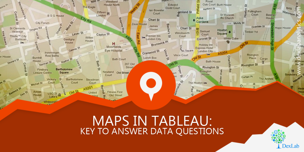 Maps in Tableau: Key to Answer Data Questions
