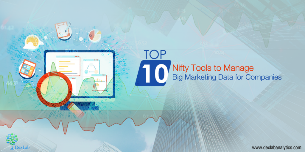 Top 10 Nifty Tools to Manage Big Marketing Data for Companies