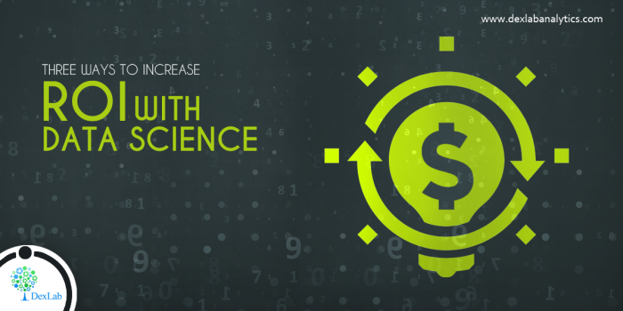 3 Ways to Increase ROI with Data Science
