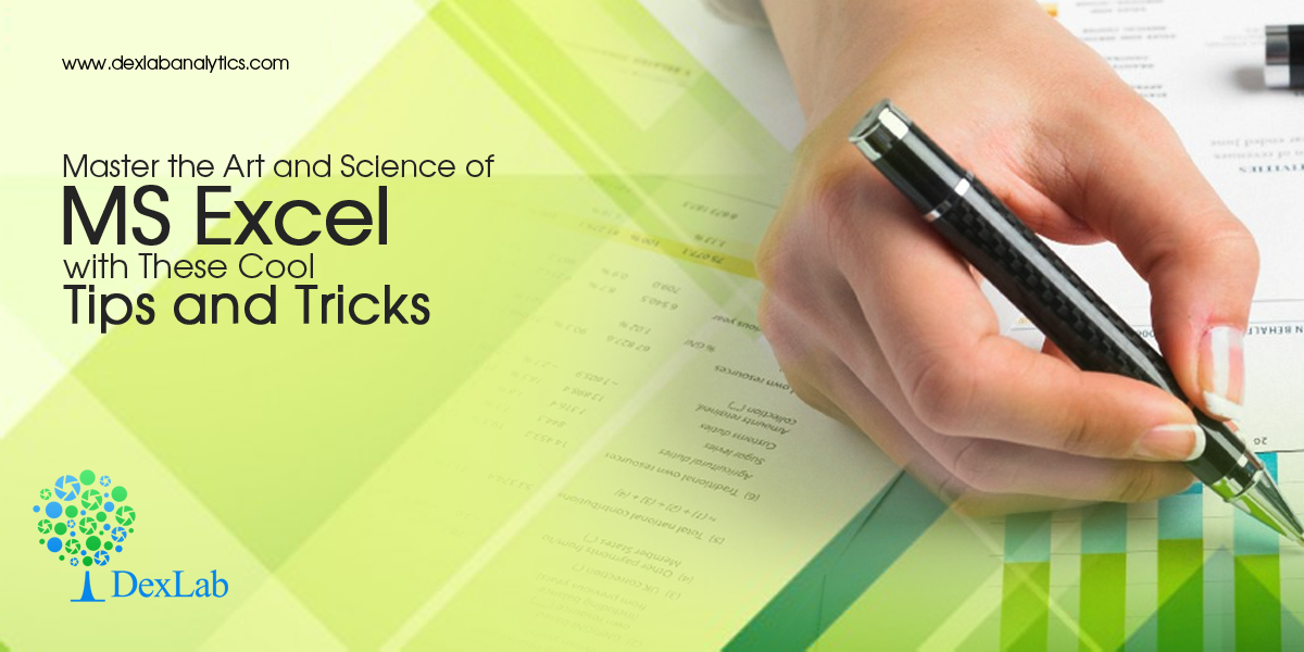 Master the Art and Science of MS Excel with These Cool Tips and Tricks