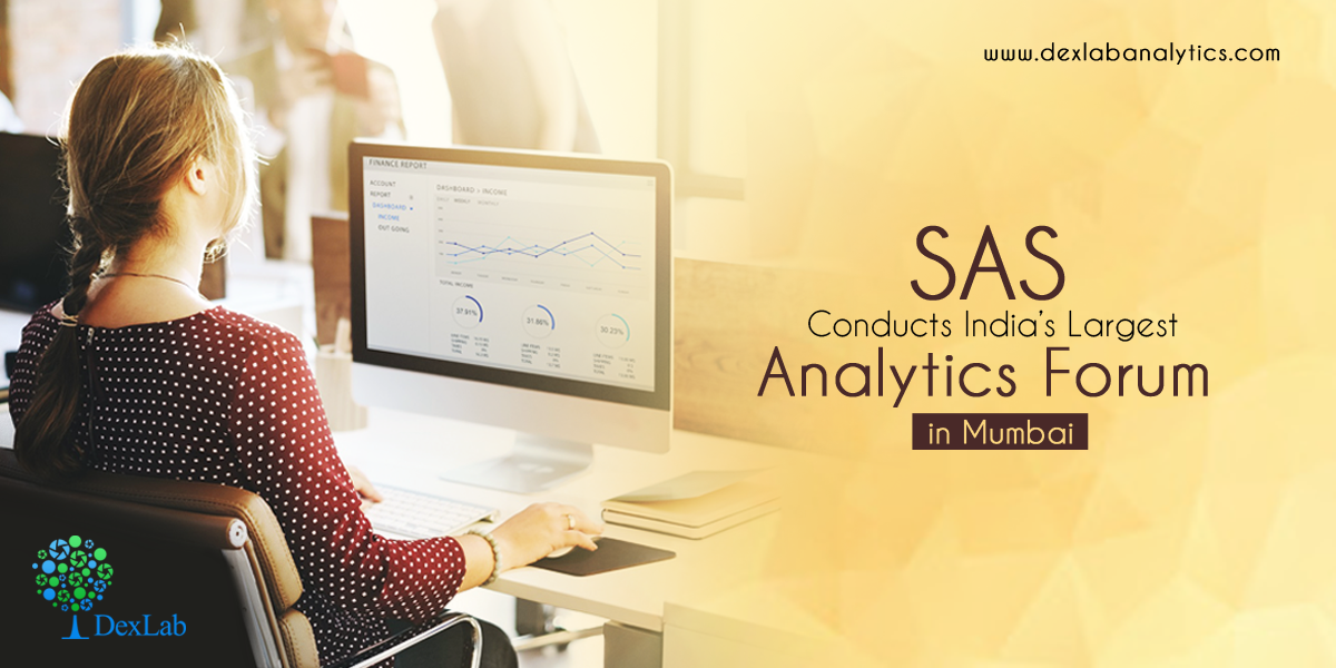SAS Conducts India's Largest Analytics Forum in Mumbai