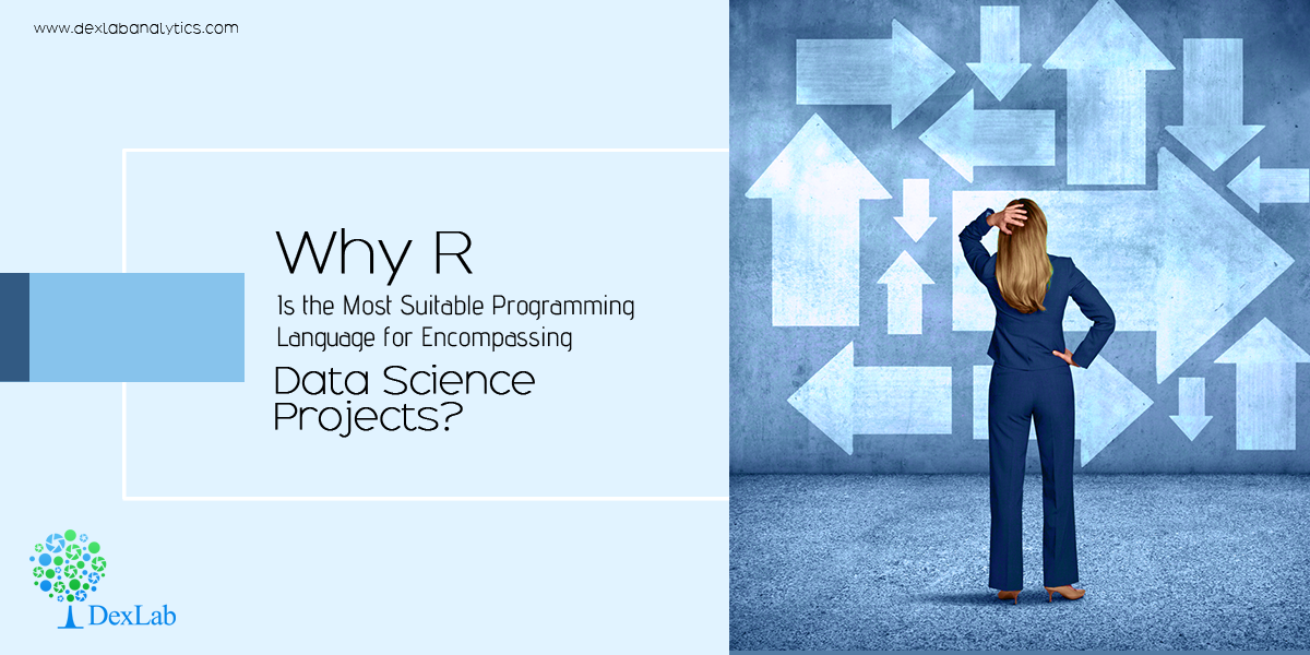 Why R is the Most Suitable Programming Language for Encompassing Data Science Projects?