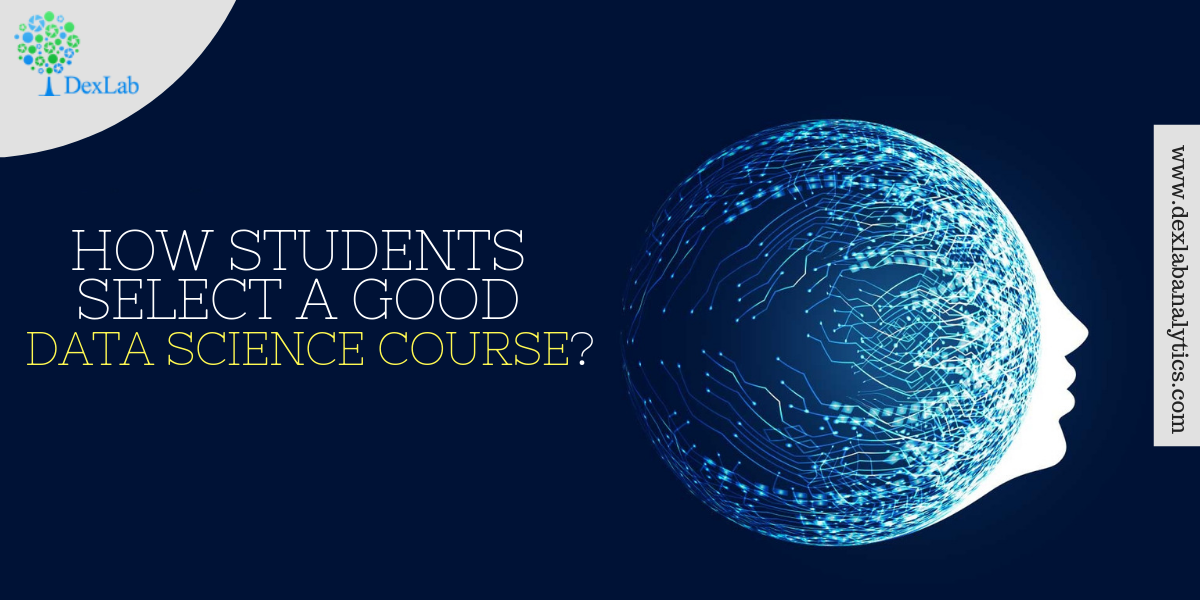 How Students Select a Good Data Science Course