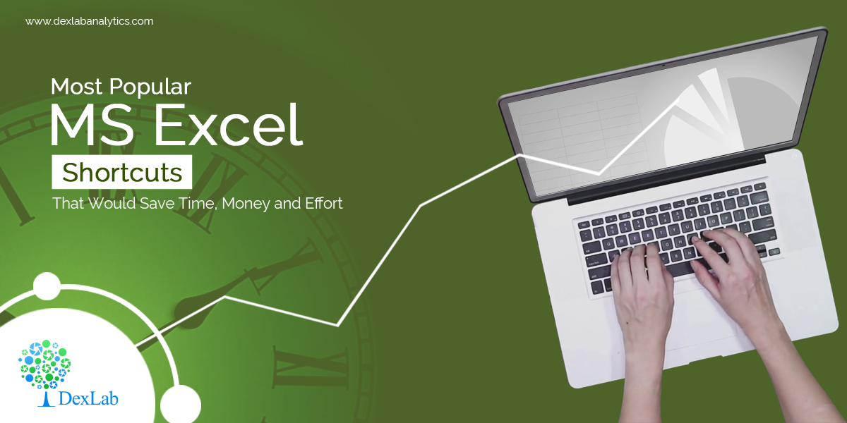 Most Popular MS Excel Shortcuts That Would Save Time, Money and Effort
