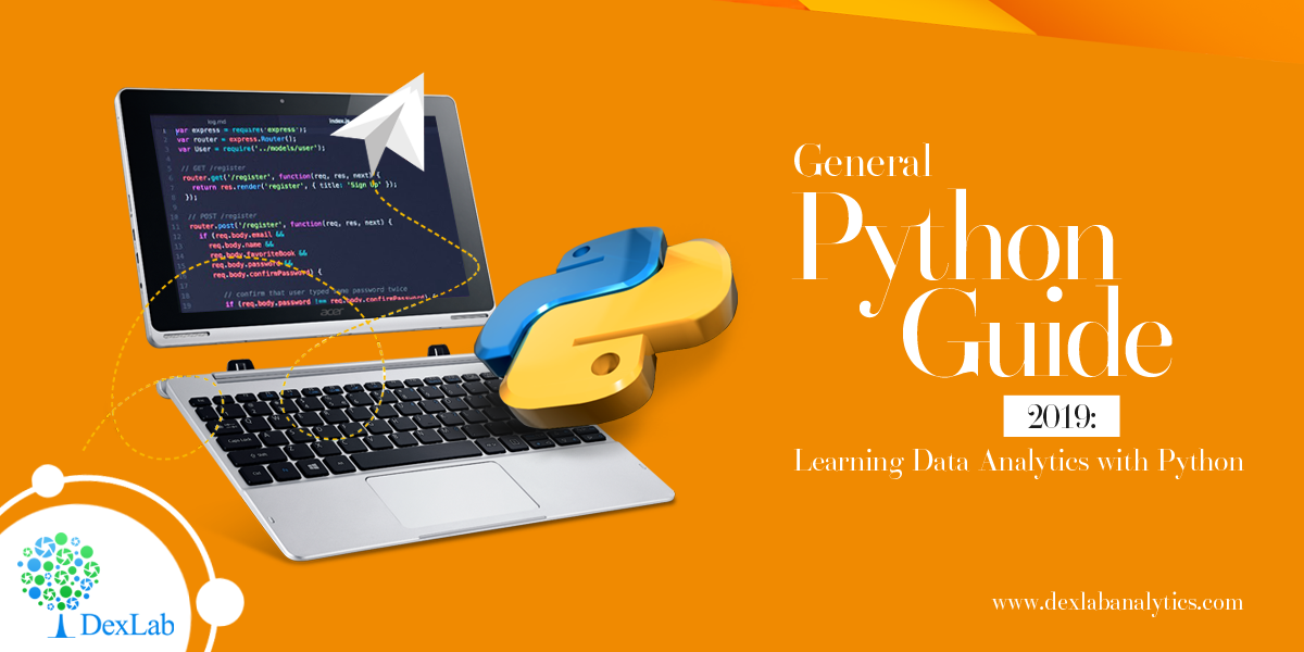 General Python Guide 2019: Learning Data Analytics with Python