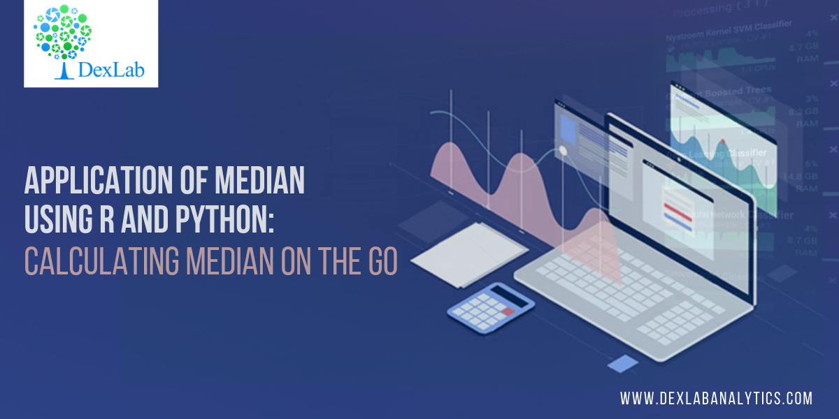 Application of Median Using R And Python: Calculating Median On the Go
