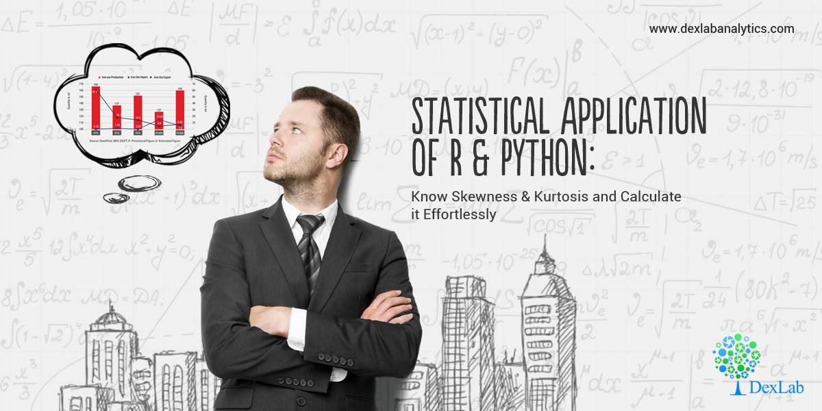 Statistical Application of R & Python: Know Skewness & Kurtosis and Calculate it Effortlessly