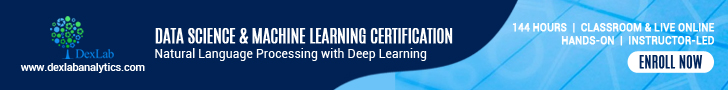 Data Science Machine Learning Certification