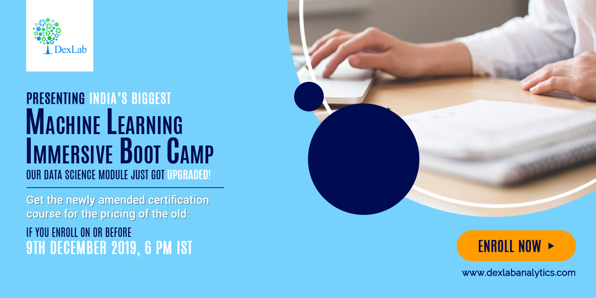 India's Biggest Machine Learning Immersive Boot Camp