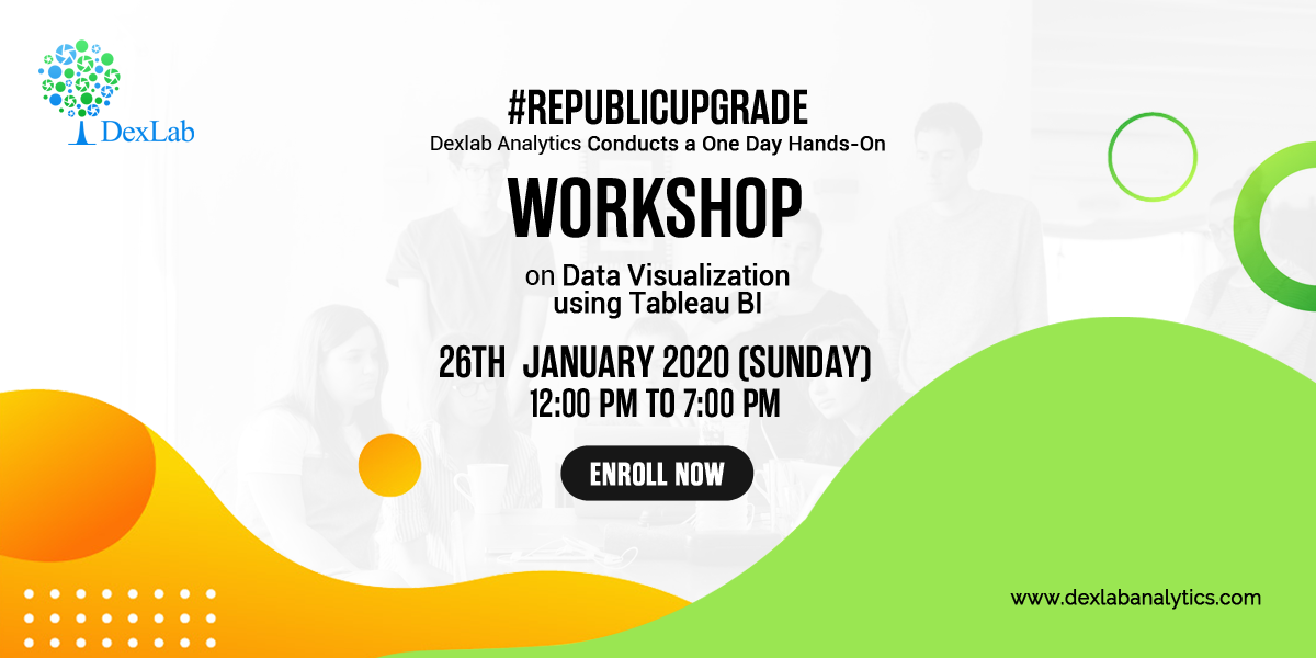 One Day Workshop on Data Visualization with Tableau
