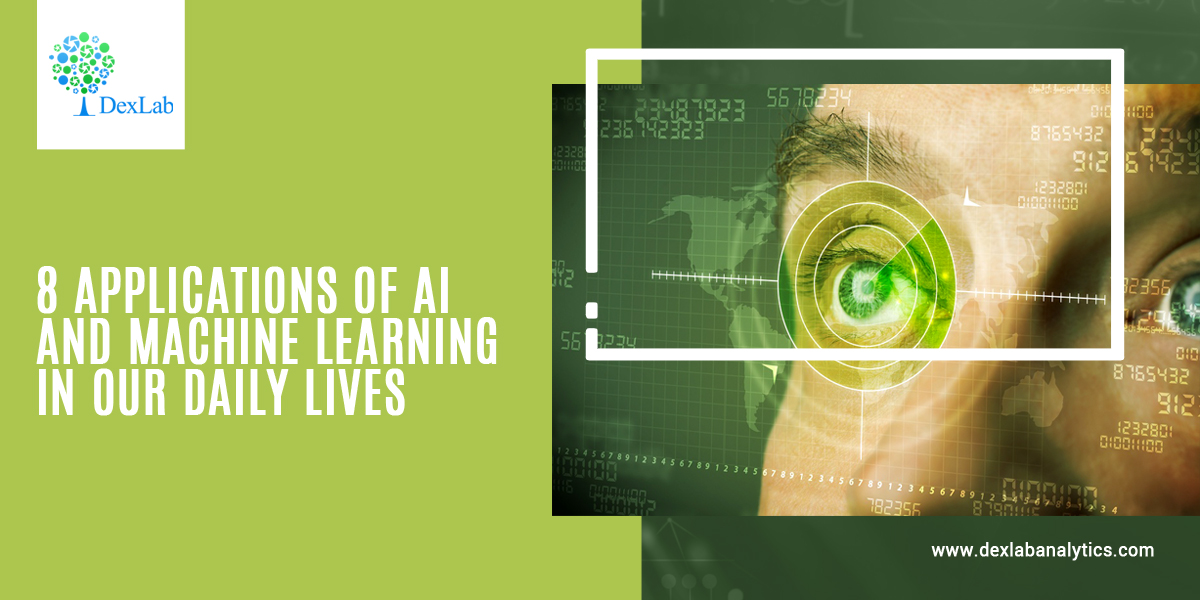 8 Applications of AI and Machine Learning in our Daily Lives