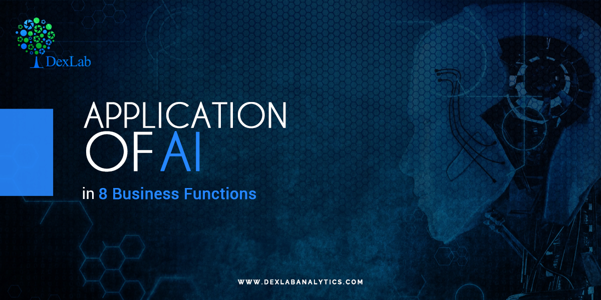 Application of AI in 8 Business Functions