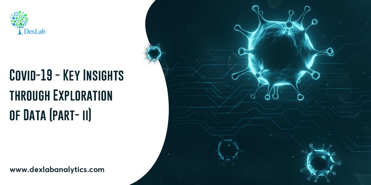 Covid-19 - Key Insights through Exploration of Data (Part - II)