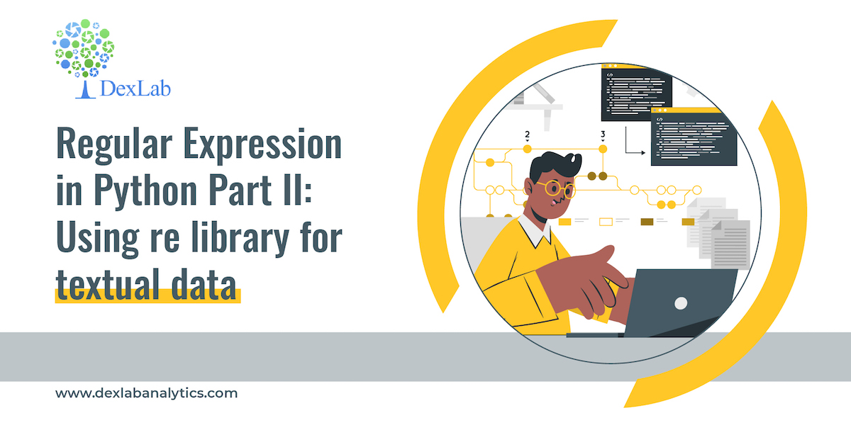 Regular Expression in Python Part II: Using re library for textual data